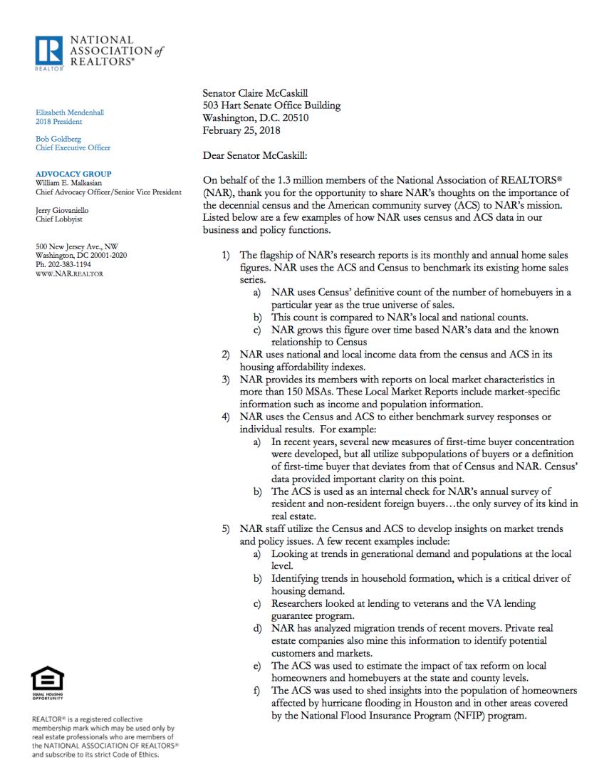 3-13-18-blog-nar-letter-to-senator-mccaskill-re-american-community-survey-image.png